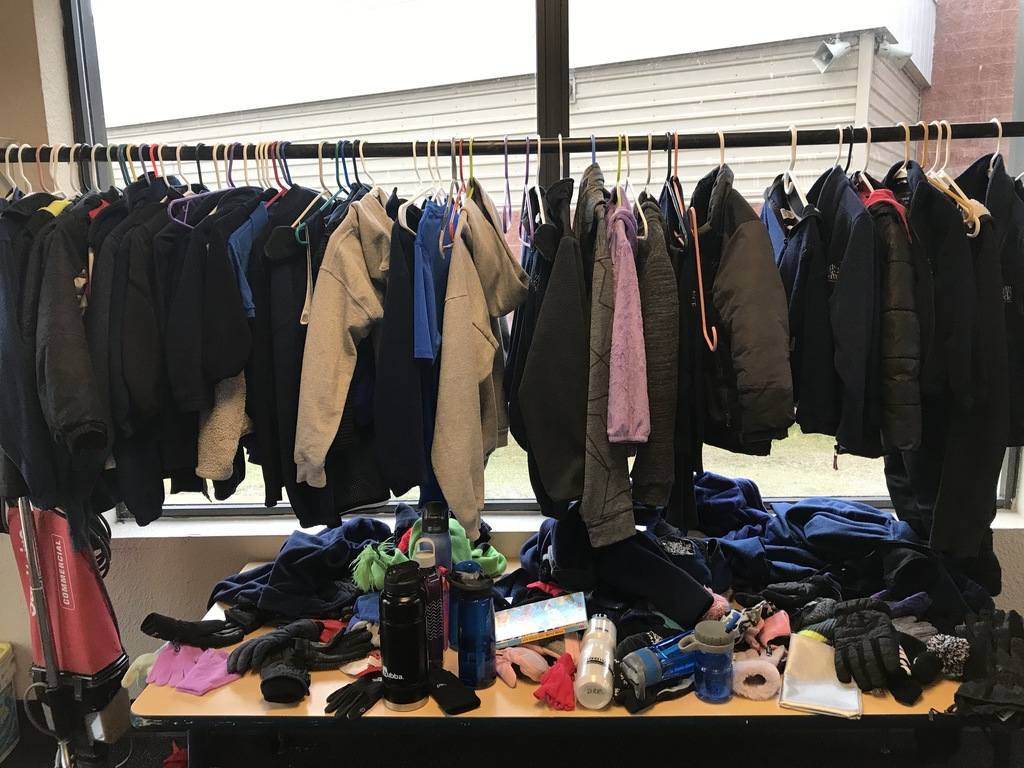 coats in lost & found